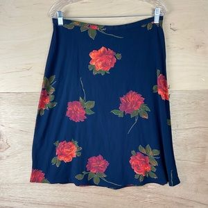 Vintage Bentley Arbuckle Floral Skirt